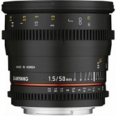 Объектив Samyang 50мм T1.5 AS UMC VDSLR